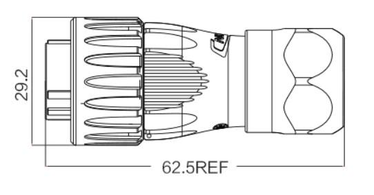 Герметичный быстроразъемный коннектор cnlinko dh-20