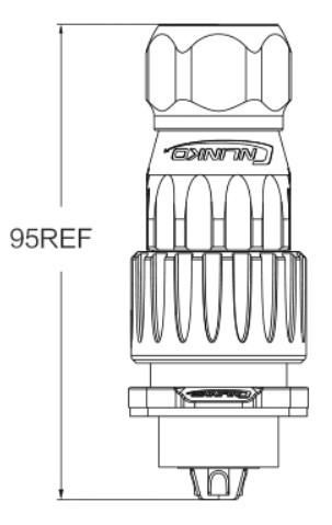 Герметичный быстроразъемный коннектор