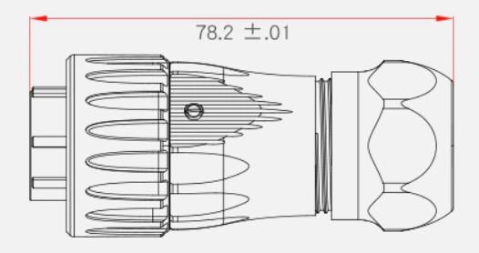 Герметичный разъем серии DH-24