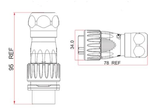 Схема герметичного коннектора LC