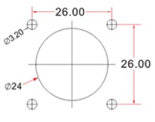 Схема герметичного коннектора LC duplex