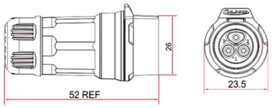 Герметичный коннектор серии LP-16