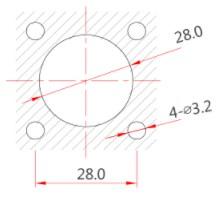 Силовая розетка 220В LP28