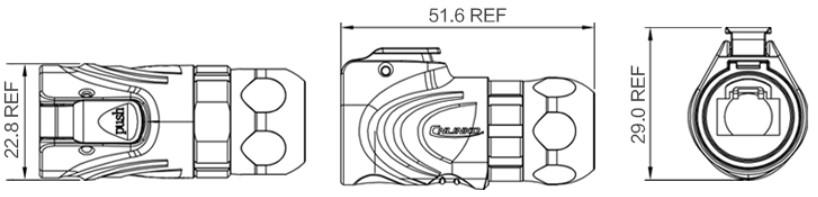 Герметичный разъем RJ45