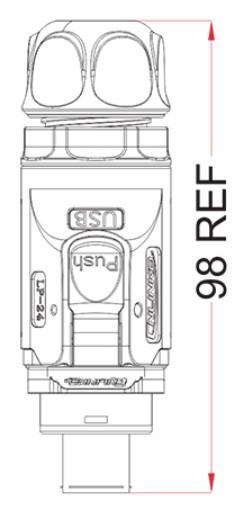 Герметичный коннектор usb